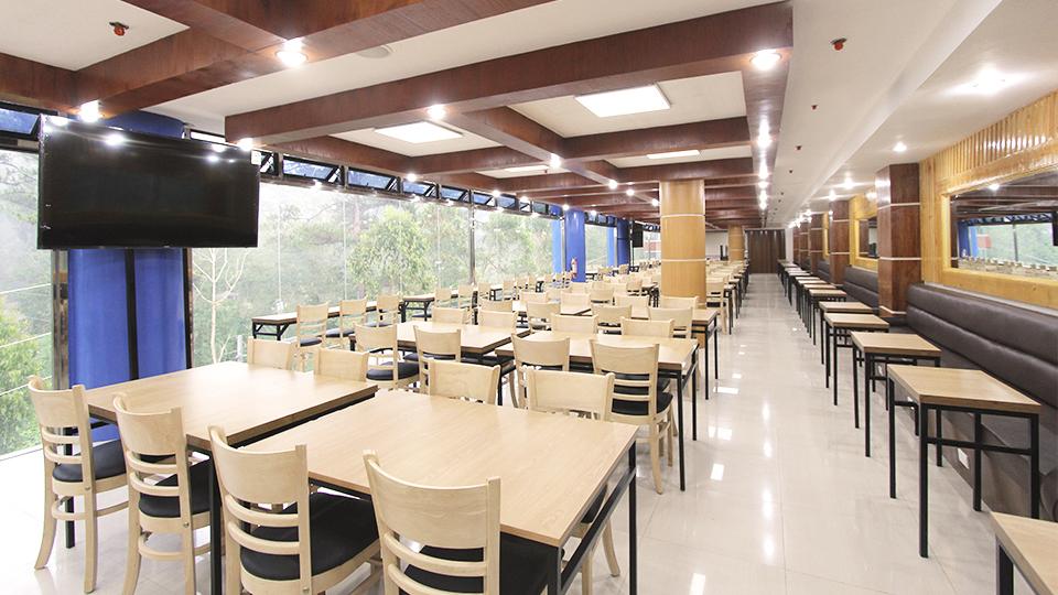 Hình ảnh phòng ăn tại trường anh ngữ Pines Main