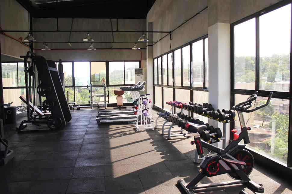 Phòng gym - Trường anh ngữ EV Academy