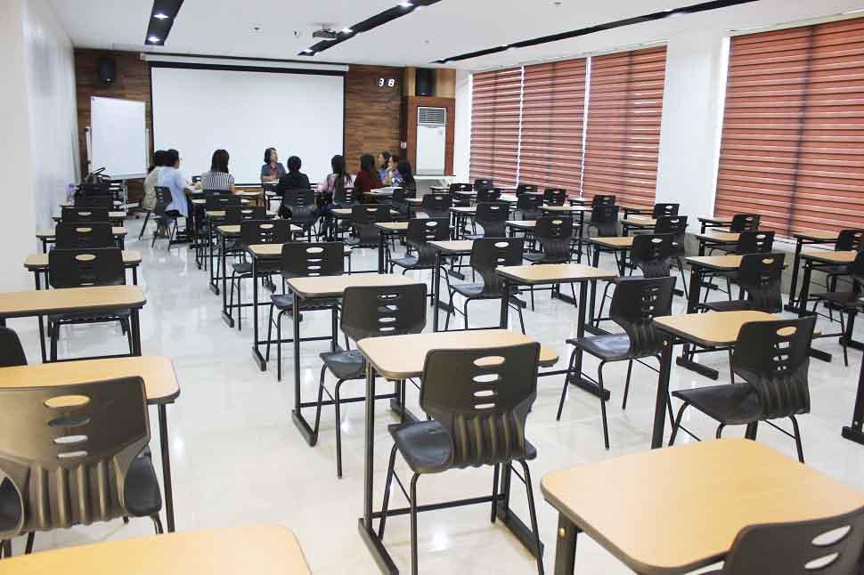 Phòng thi - Trường anh ngữ EV Academy