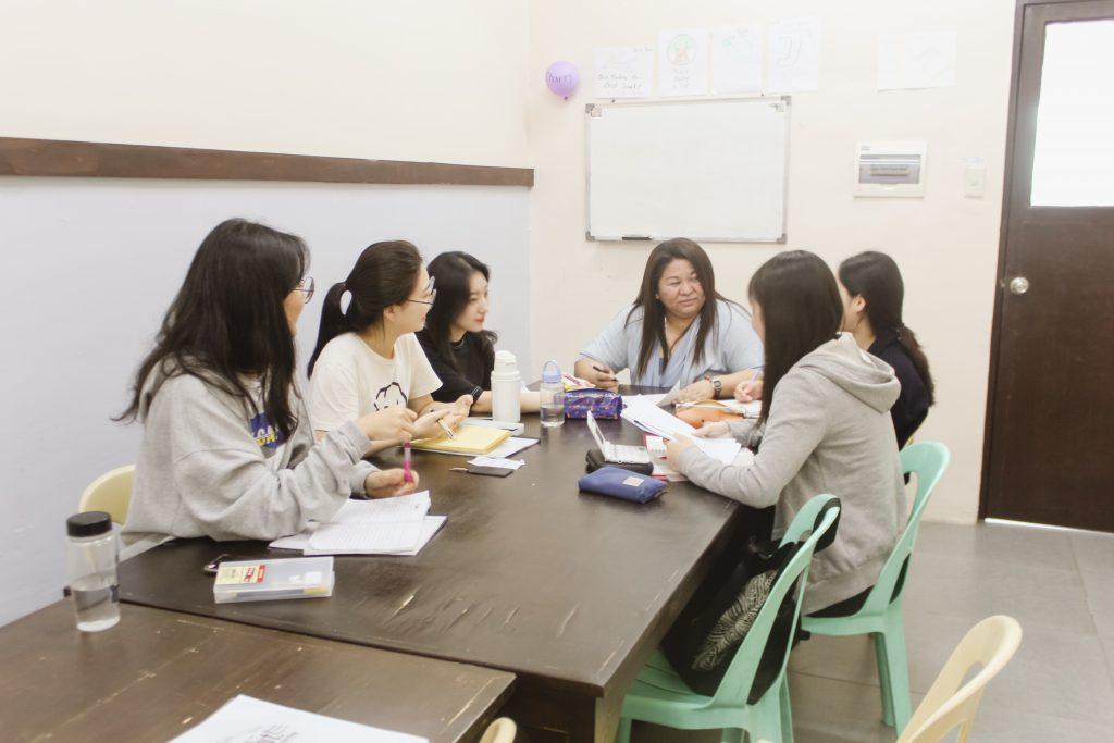 Trường Anh ngữ LSLC - Phòng học nhóm