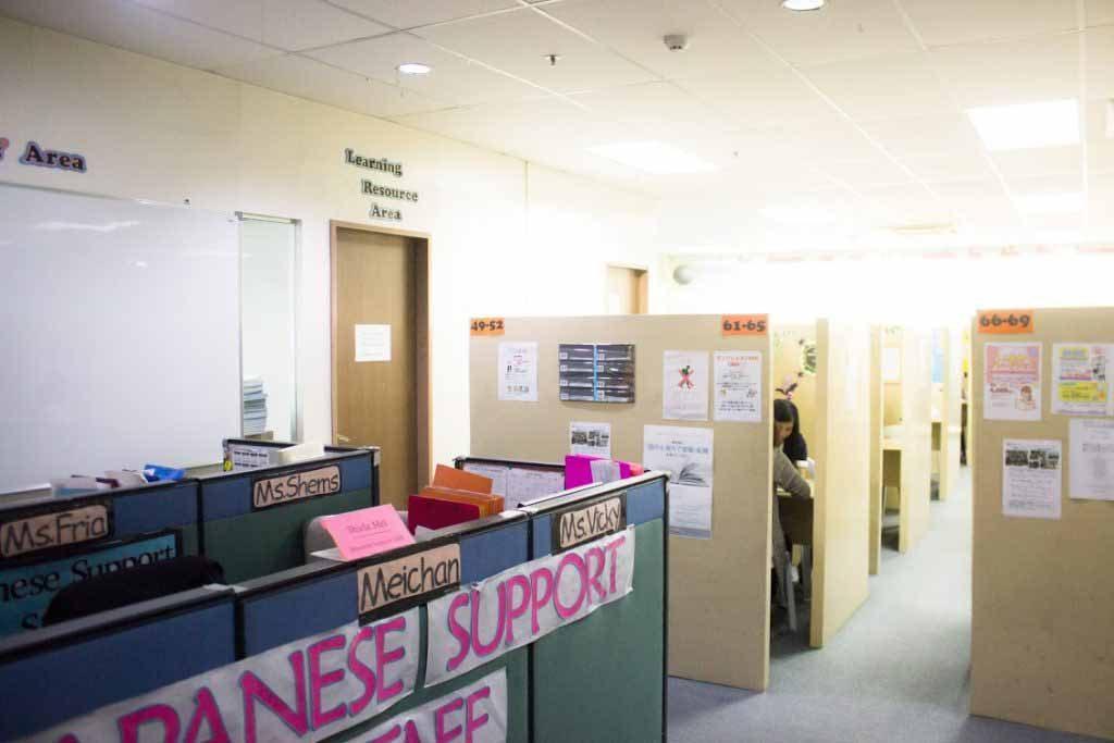 Phòng học - Trường Anh ngữ NILS