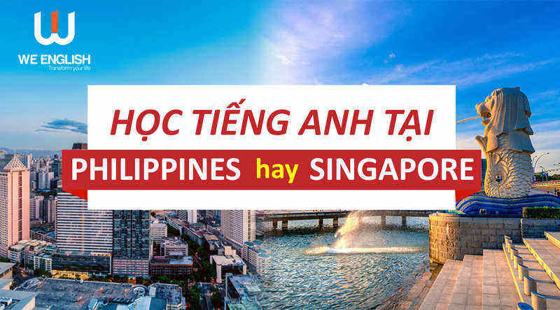 Học tiếng Anh tại Philippines so với Singapore