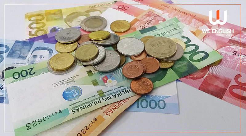 mệnh giá tiền philippines tỷ giá peso