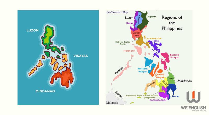 múi giờ philippines và việt nam vị trí địa lý
